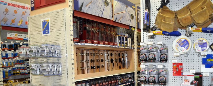 We have an excellent assortment of hardware for all of your projects.