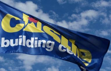 Castle Building Centres flag