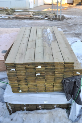 1x6 - 6' S4S ACQ Treated Fence Board