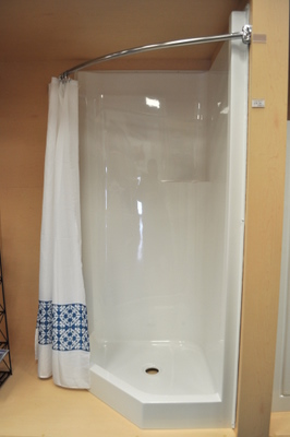 36 Neo Angle Shower Stall