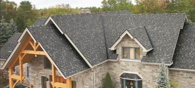 Cambridge Dual Black Lifetime Fibreglass Shingle