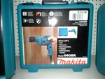 "Makita 3/8"" Drill c/w Case & Keyless Chuck"