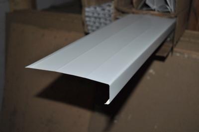 6 Aluminum White Fascia