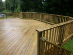 10'  Green Treated Decking