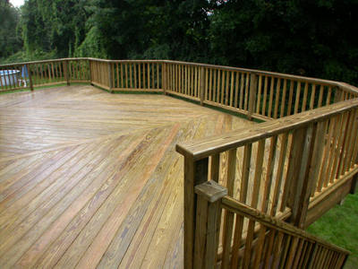 10' Treated Decking
