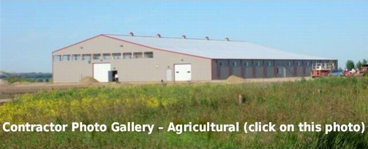 To see our Agricultural Project Gallery, click on the image